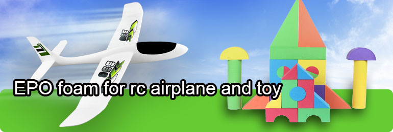 EPO foam for rc airplane and toy